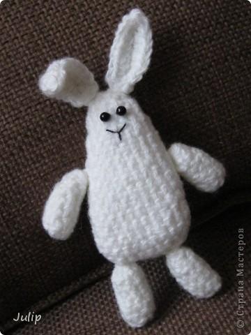 Хотелось сделать зайчика необычной формы. фото 1
