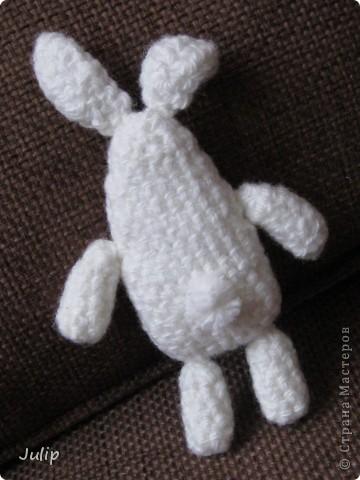 Хотелось сделать зайчика необычной формы. фото 2