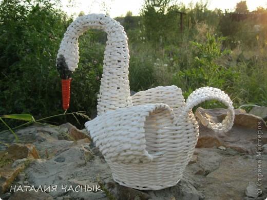 Мой второй лебедь и мини МК фото 2