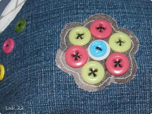 Решила использовать джинсы, которые давно лежат без дела(для носки уже не пригодны) фото 6