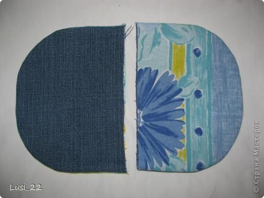Решила использовать джинсы, которые давно лежат без дела(для носки уже не пригодны) фото 11