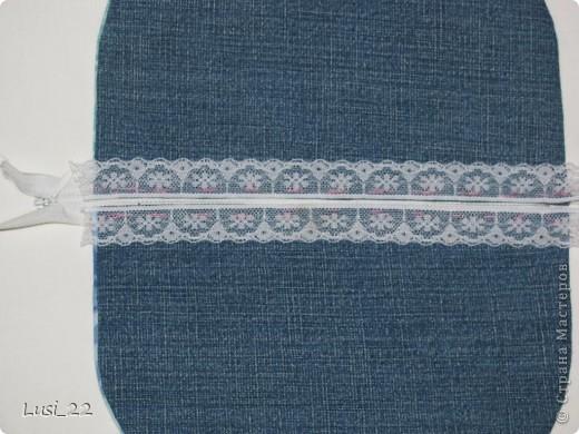 Решила использовать джинсы, которые давно лежат без дела(для носки уже не пригодны) фото 14