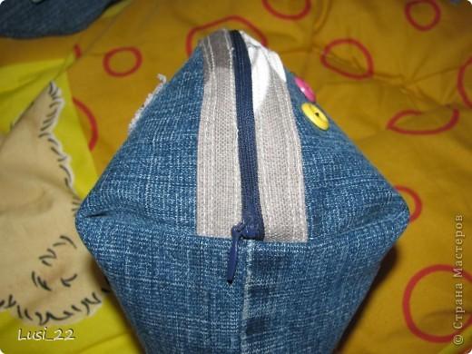 Решила использовать джинсы, которые давно лежат без дела(для носки уже не пригодны) фото 5