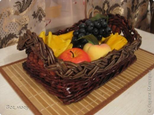 Подносик с декоративными фруктами фото 4