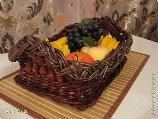 Подносик с декоративными фруктами фото 6