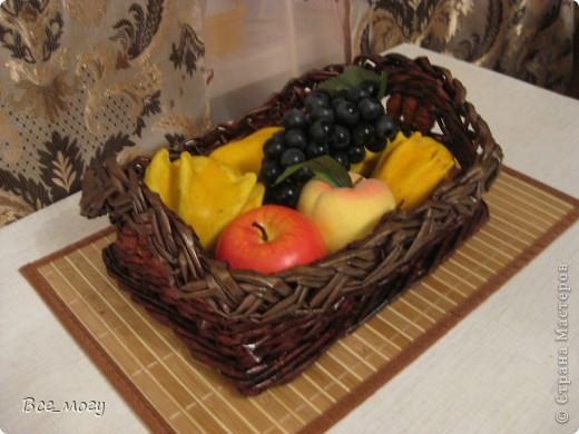 Подносик с декоративными фруктами фото 7