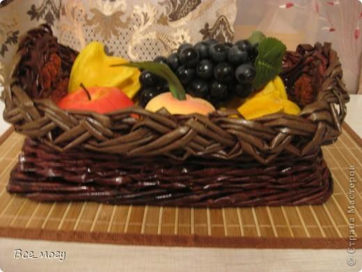 Подносик с декоративными фруктами фото 9