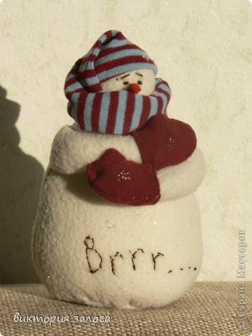Озябший снеговик - это небылица конечно.. Просто он пока одинок и грустит... фото 1