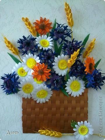 Люблю полевые цветы. Василечки, ромашечки... Пшеничка...  фото 1