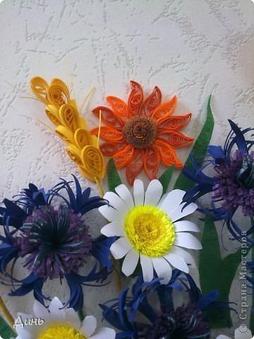 Люблю полевые цветы. Василечки, ромашечки... Пшеничка...  фото 2