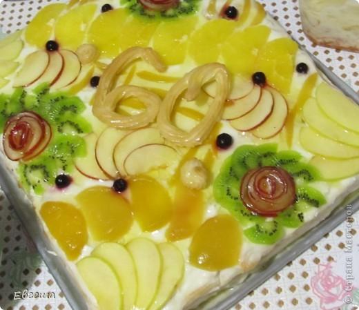 Торт в честь 60-летия любимого папочки фото 13