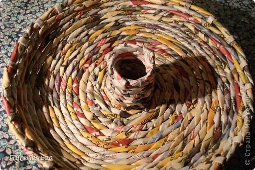 Для хороших ребят из кружка плетения из газет выкладываю этот мастер-класс.  Нам кроме газет понадобится картонная труба из под фольги. фото 5