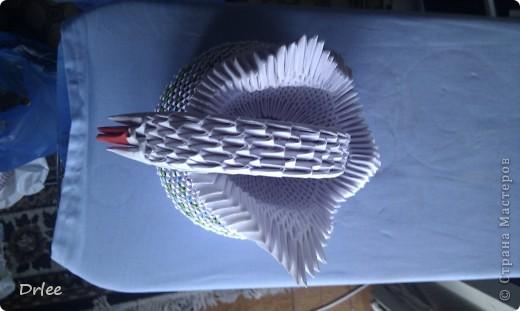 Лебедь на подставке фото 4