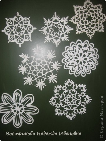 Снежинки фото 3