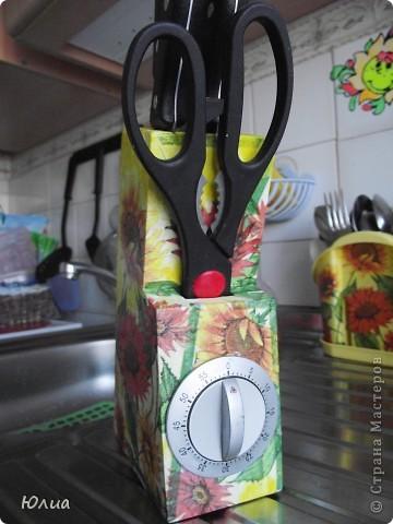 Здравствуйте жительницы страны Мастеров!!!  Насмотрелась великолепных работ Мастериц и тоже захотелось как-то украсить кухню.  фото 9