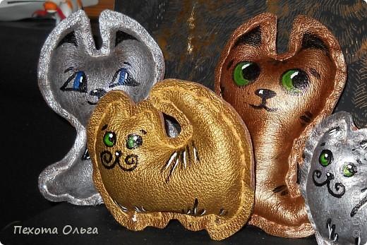 Новогодние котики фото 4