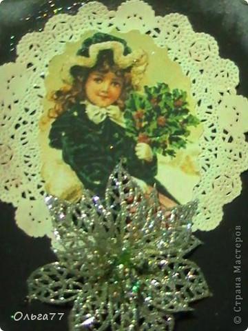 Новогодние открыточки своими руками - это так приятно! Но ещё приятней их дарить. фото 2