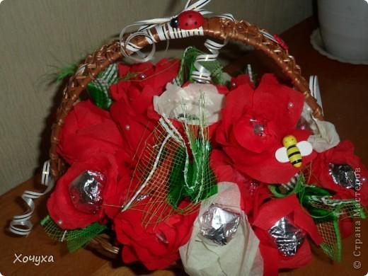 Заказали девочке на 25-летие 25 конфетных цветов фото 5