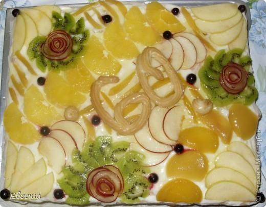 Торт в честь 60-летия любимого папочки фото 11