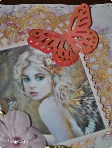Обложка для любительницы всего розового ..... фото 2