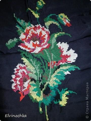 Моя первая работа цветы=)