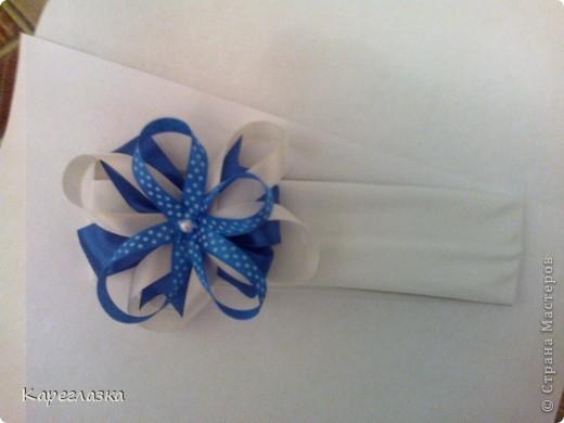 сиреневая, белая в горох и голубая фото 3