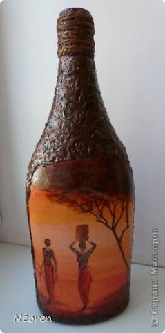Африканская бутыль. фото 1