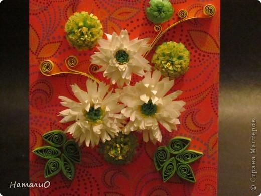 Мои первые хризантемы...Спасибо Ольге Ольшак и Mary Bond за МК!!! получилось вот так)))не судите строго! фото 2