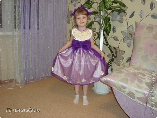 Первое платье которое сшила сама!!!