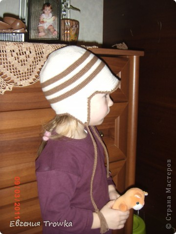шапочка из Ярнарт джинс, крючок №2,5 фото 18
