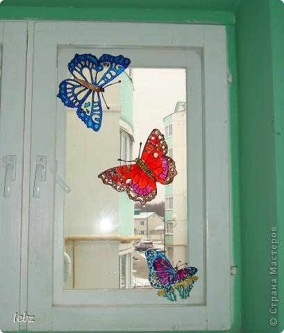 витраж, витражные картинки, рисунки по стеклу фото 1