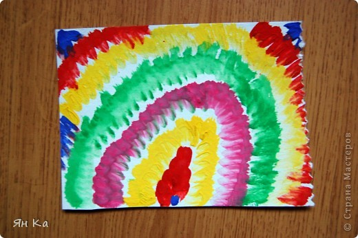Разные техники рисования гуашью для дошкольников фото 4