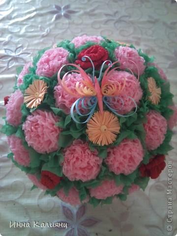 Цветочный горшочек фото 2