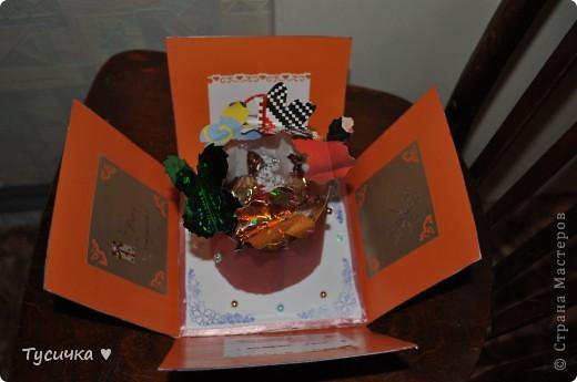 Наконец-то я решилась на коробочку))) Смотрела, смотрела и на мамин День Рождения все-таки сделала)) фото 8