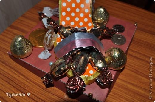 Наконец-то я решилась на коробочку))) Смотрела, смотрела и на мамин День Рождения все-таки сделала)) фото 4