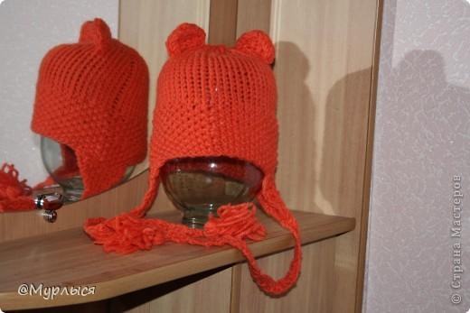 """Мои шапки """"Кошки"""" Впервые вязала, до этого только шарфики)))) фото 6"""