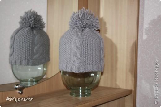 Связала шапочку по Мастер Классу spicami.ru, получилось симпатично, надеюсь и Вам пригодиться) фото 1