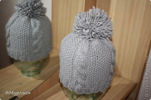 Связала шапочку по Мастер Классу spicami.ru, получилось симпатично, надеюсь и Вам пригодиться) фото 2