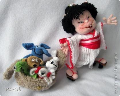 АмигуRussia. Весёлая японская девочка с друзьями фото 3