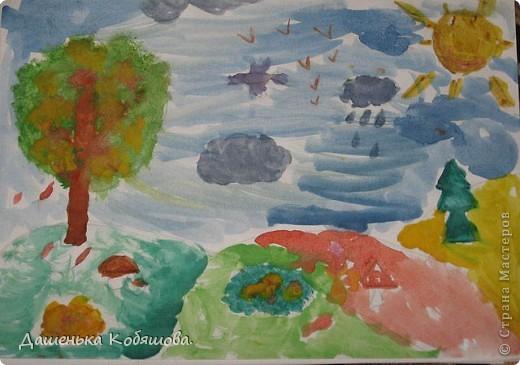 Эти рисунки рисовала в этом году на уроке рисования в школе. Получился вот такой дельфин. фото 2