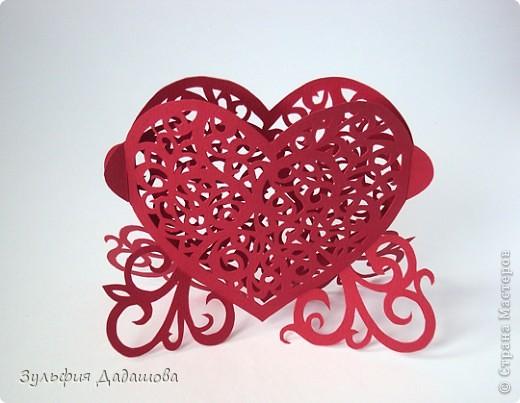 Кружевное сердечко фото 1