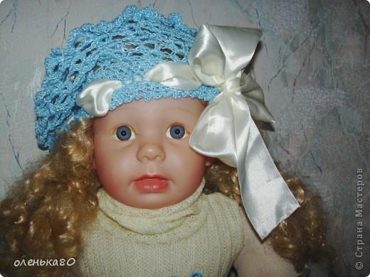 Беретик вязался для одной маленькой девочки на подарок. фото 1