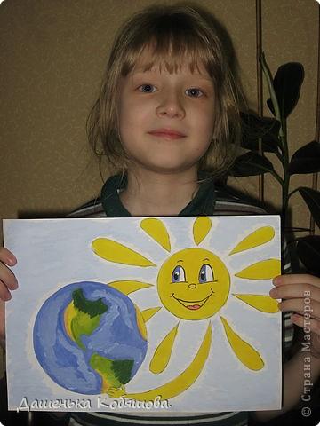 Эти рисунки рисовала в этом году на уроке рисования в школе. Получился вот такой дельфин. фото 3