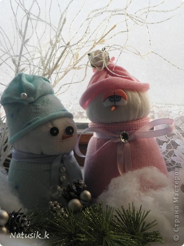Вот и мои снеговички. фото 4