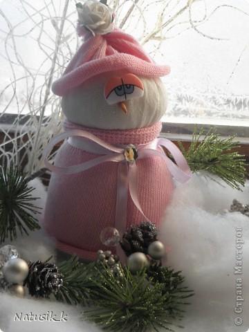 Вот и мои снеговички. фото 2