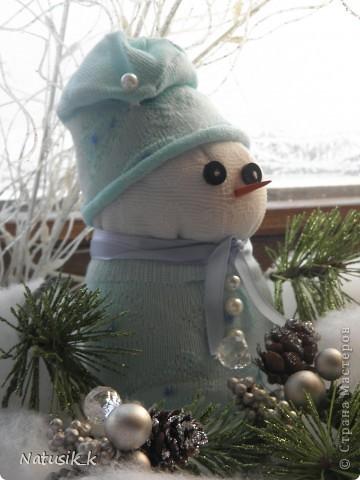 Вот и мои снеговички. фото 3