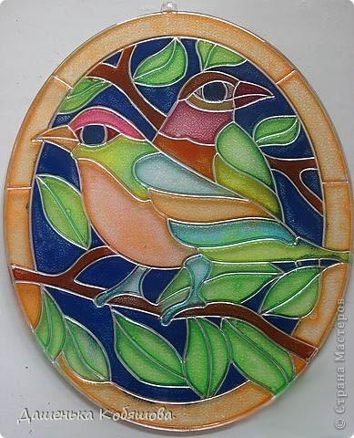 Очень люблю рисовать и раскрашивать птиц.Вот какие они у меня получились. фото 2