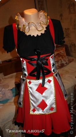 костюм карточной королевы фото 1