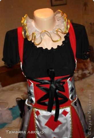 костюм карточной королевы фото 2