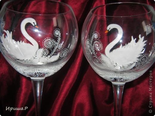 Дорогие мои мастерицы, не знаю кто первый смышленый и рукастый придумал лепить лебедей, но меня лично изначально вдохновила Морэ. Вот на нее и ссылаюсь..Спасибо большое за вдохновение! фото 3